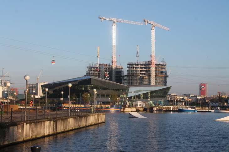 Swimming Shorts: Royal Victoria Dock