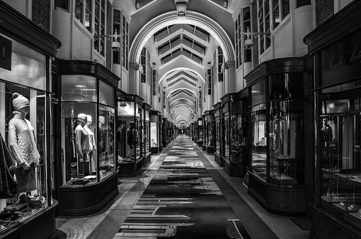 Burlington Arcade. Photo: Carlos (2013)