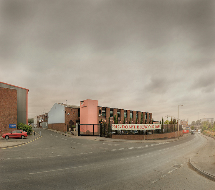 Formans Salmon Factory in Stratford which relocated because of the Olympic Site. Photo: chris dorley-brown (2005)