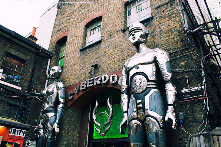Rave while you shop at Cyberdog in Camden. Photo:  avifloydcohen (2013)