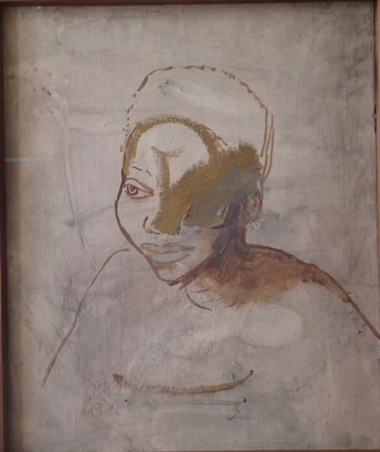 Girl, Mervyn Peake