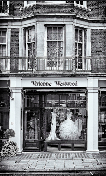 Vivienne Westwood in Mayfair. Photo: Nigel Bewley (2013)