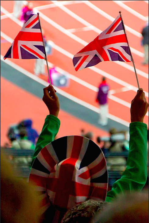 Go Team GB. Photo: Sean Hartwell Photography (2012)