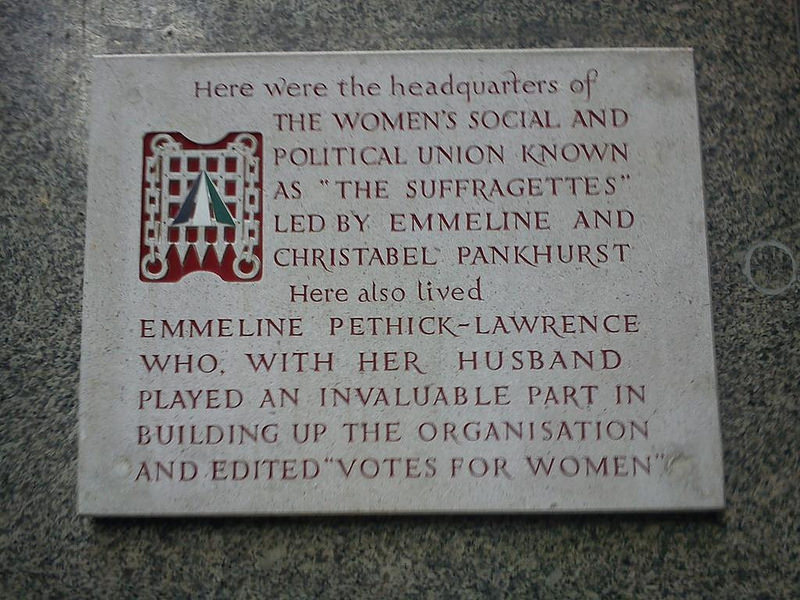 London: Suffragette City