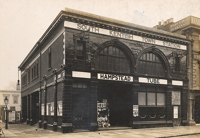 South Kentish Town station, 1907. It would close in 1924. Courtesy of London Transport Museum.