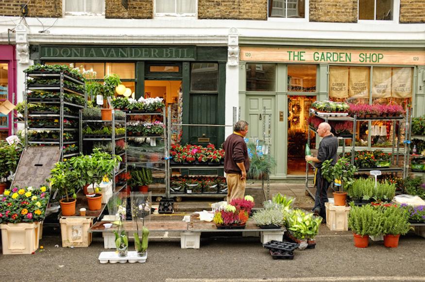 Columbia Road Flower Market Closes Londonist