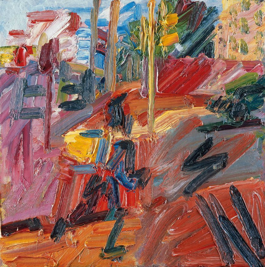 painting by layers  frank auerbach gets the retrospective he deserves