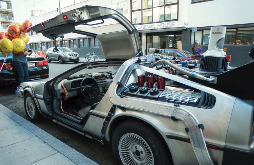 Celebrate Back To The Future Day At Leicester Square Theatre