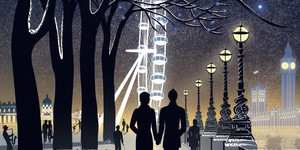 South Bank In Winter: Striking New Poster Unveiled