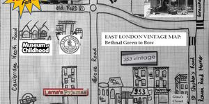 Bethnal Green To Bow In Vintage Stores