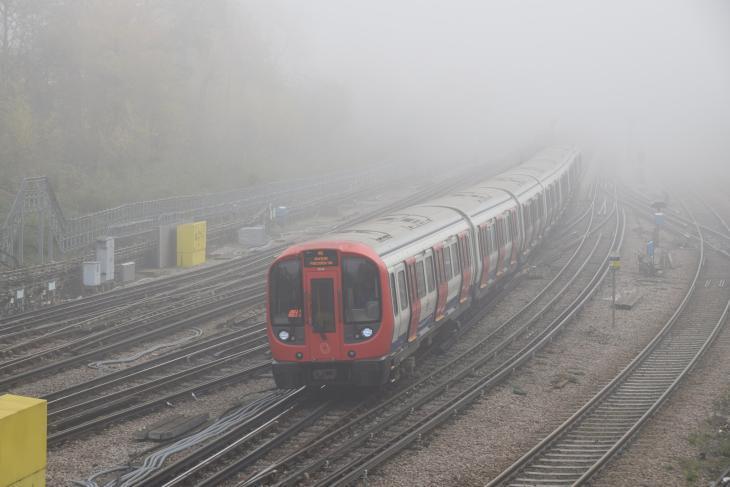In photos: London in the fog