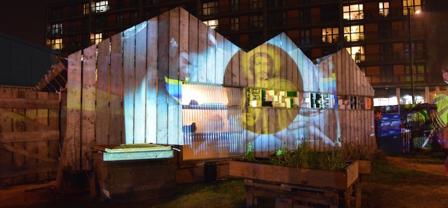 Venture Into The Park After Dark At Lights Festival