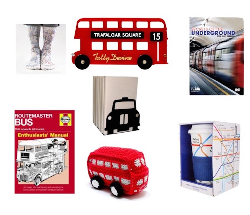 London Christmas Gift Guide: Transport Lovers' Edition