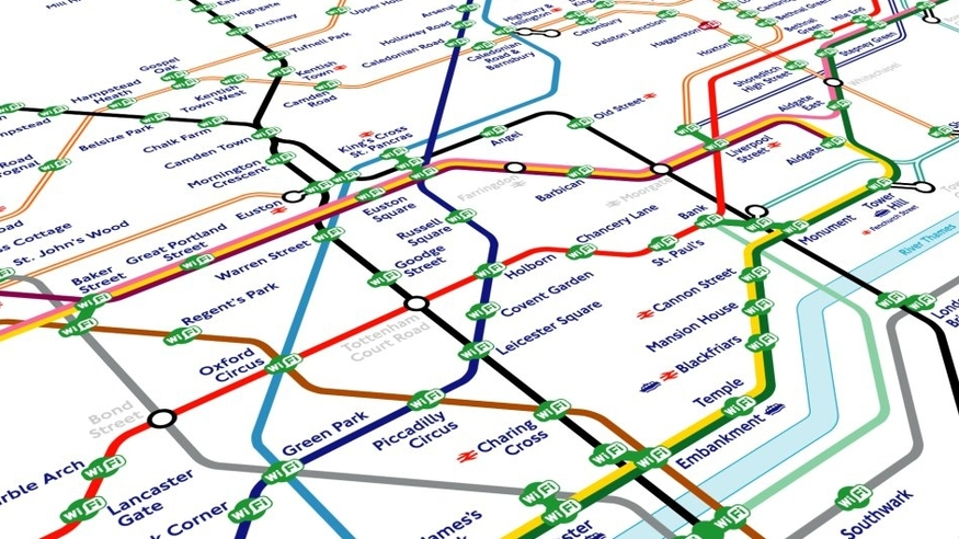 Which Are The 17 Stations Where You Cant Get WiFi On The Tube