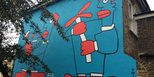New Thierry Noir Mural In Peckham Is Homage To Poussin