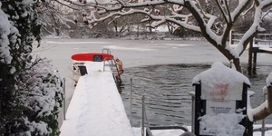 4 Freezing Outdoor Swims In London