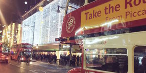 Deal Of The Day: See London's Christmas Lights On A Routemaster Tour