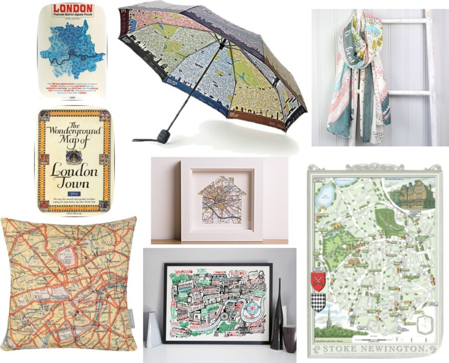 London Christmas Gift Guide: Map Lovers' Edition
