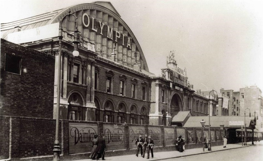 Secrets Of Olympia London And One Fake Fact