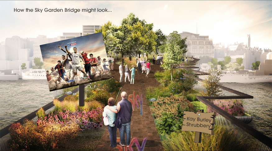 The Garden Bridge Brought To You By Sky Londonist