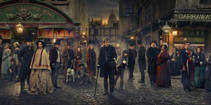 Go Behind The Scenes Of Dickensian