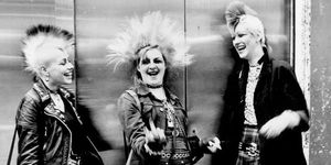 Year Of The Punk Rocks Up In London