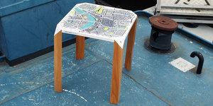 A Map Of London That Doubles As A Coffee Table
