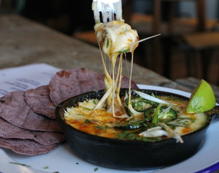 Best comfort food meals in London: Queso Fundido at The Cheese Bar