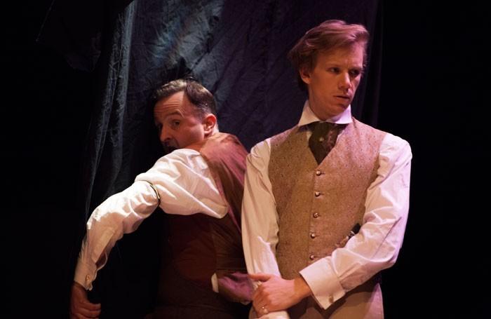 Rupert Mason as Basil Hallward and Guy Warren-Thomas as Dorian Gray © Emily Hyland