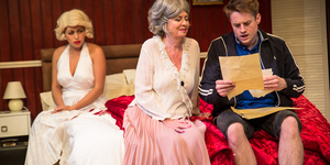 Good Try, Norma Jeane: Marilyn Comedy-Drama Reviewed