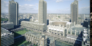 Unseen Photos Of The Barbican's Construction