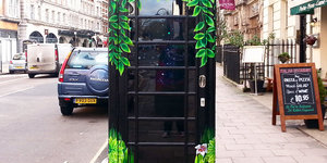 Have You Seen This Blossoming Phone Box In Bloomsbury?