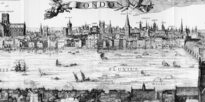 Same London View, 400 Years Apart