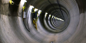 Video: Inside National Grid's Power Tunnels