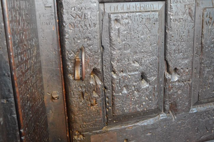 Prime ministers and famous writers have all vandalised this London room, but where is it?