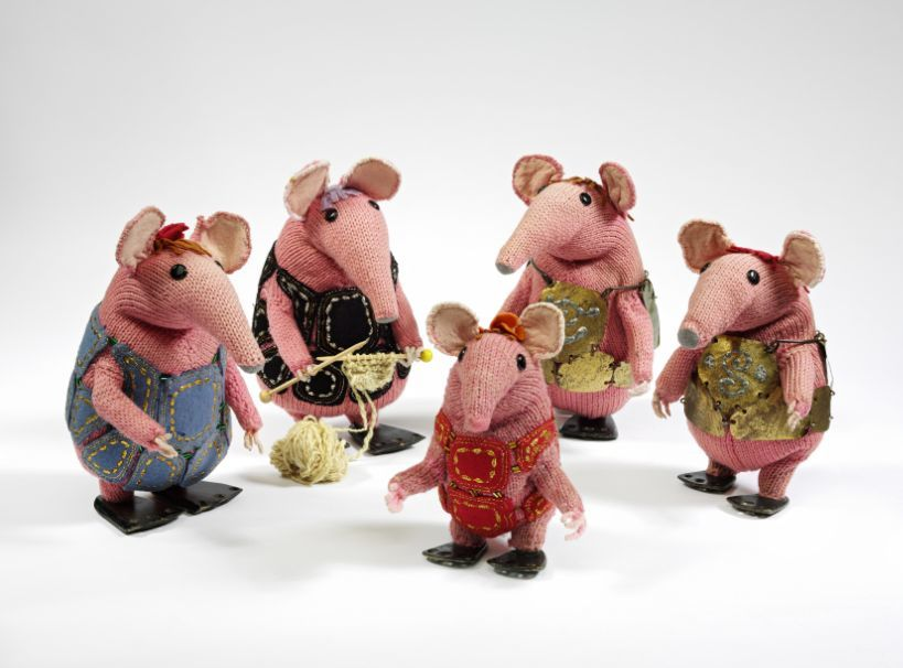 Meet The Clangers Bagpuss And Friends Londonist