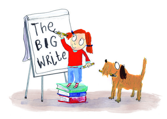 Join Michael Rosen For Discover's Children's Literature Festival, The Big Write
