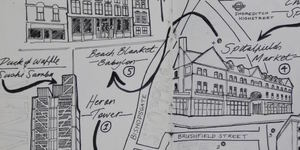 See Hand-Drawn Maps Inspired By London Dates
