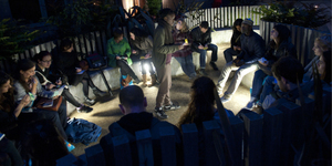 'Walking Writing Workshop' Explores Balham To Brixton At Night