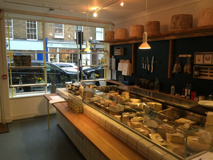 Inside Buchanan's: one of the best cheesemongers in London