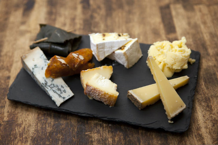 Cheese platters, cheese boards, cheese fondues and more: La Cave a Fromage is one of the best places to eat cheese in London