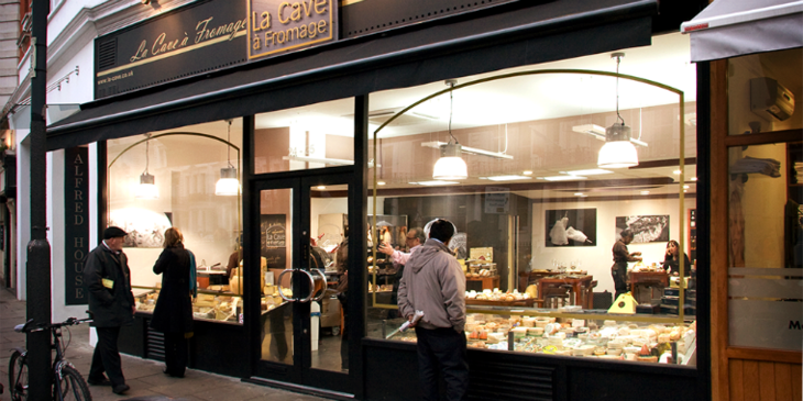 La Cave a Fromage: one of London's best cheese shops