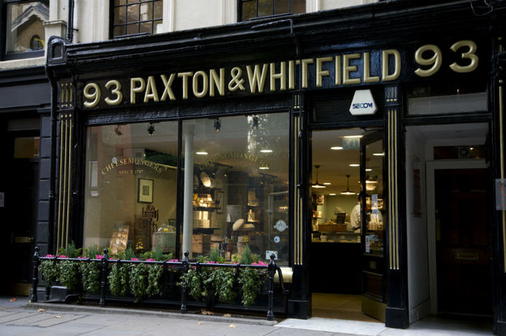 Paxton & Whitfield: one of the oldest, and best, places to eat, buy and enjoy cheese in London.