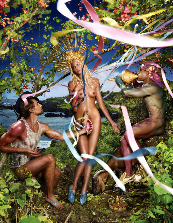 Dave LaChapelle's reimagining of the Birth of Venus is best avoided, (c) David LaChapelle