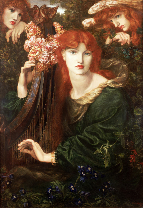 The Pre-Raphaelites, such as Rossetti, clearly owe a debt to Botticelli. © Guildhall Art Gallery