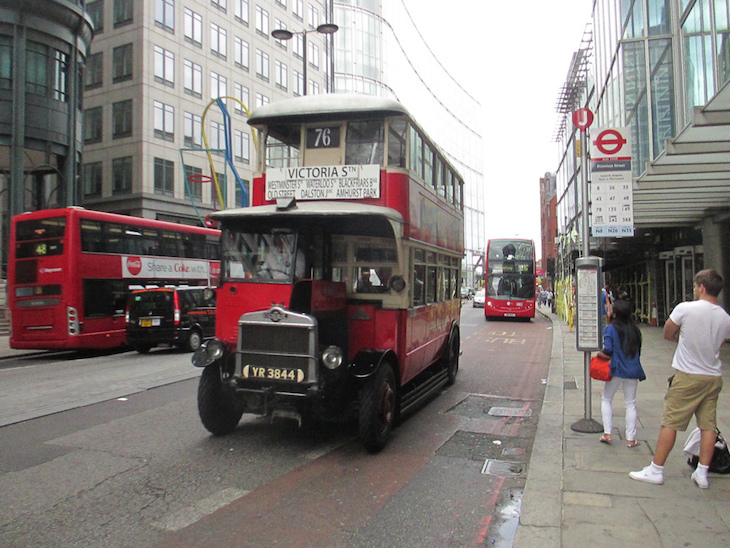 How London's red buses are mostly not actually red at all