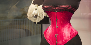 We Get A Man And A Woman To Review The V&A's Underwear Show