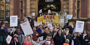 Protest Continues Over Plans To Close Lambeth Libraries
