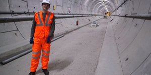 Video: Descending Into Crossrail's Tunnels