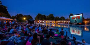 Fancy Watching Jaws From A Dinghy In Brockwell Lido?